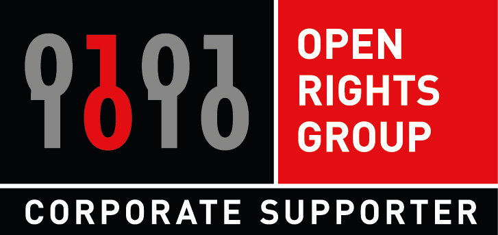 Open Rights Group Corporate Supporter Logo